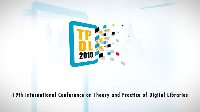 19th International Conference on Theory and Practice of Digital Libraries
