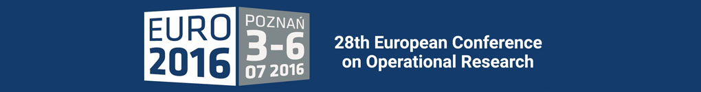 28th European Conference on Operational Research, 3-6.07.2016